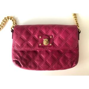 Marc Jacobs- Fuchsia Quilted Crossbody